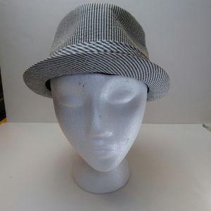 Lids Seersucker Stetson Style Hat, S/M